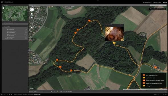 Adobe Lightroom GPS Tracking