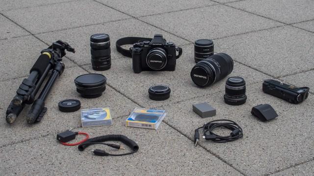 Olympus Reise Fotoausrüstung