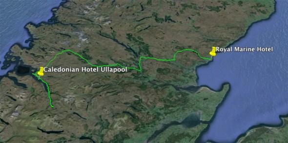 Schottland - Brora - Ullapool