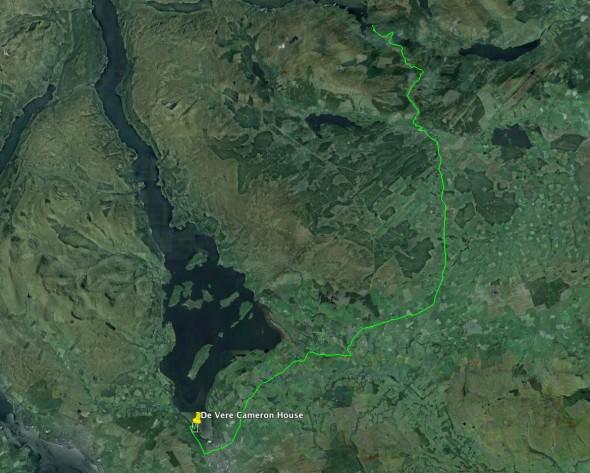 Schottland Tag 12 - Loch Lomond - Loch Katrine