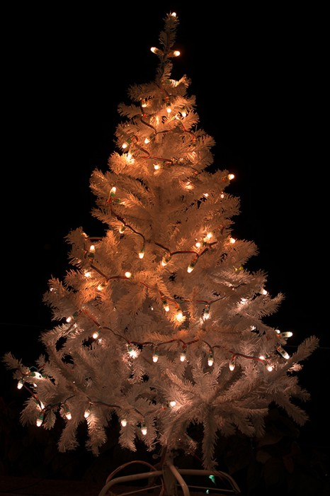 Weihnachtsbeleuchtung Testaufnahmen
