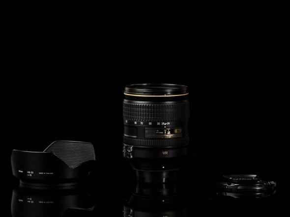 AF-S Nikkor 24-120mm 1:4 G ED VR N / 77mm