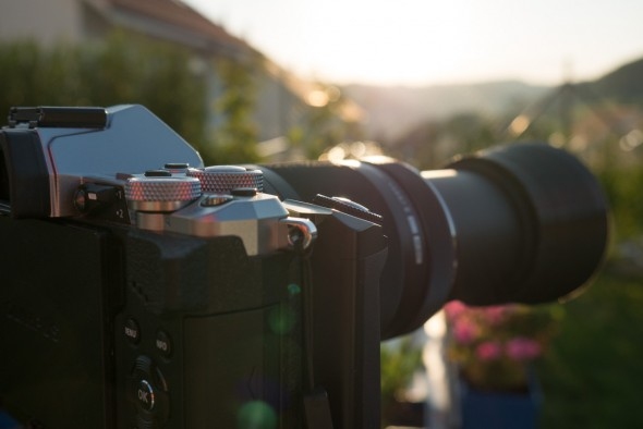 3D Druck - Streulichtblende für Olympus 75-300mm