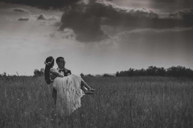 Anita + Radek | sesja ślubna w Mięćmierzy