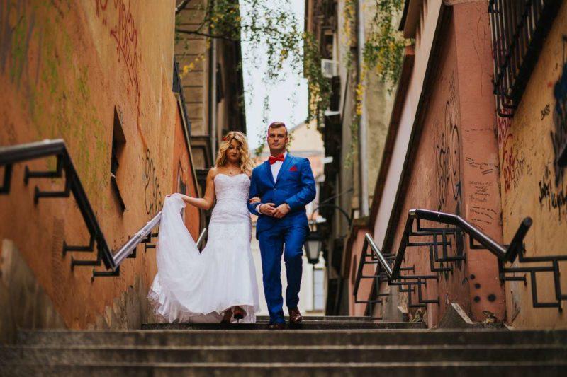 sesja ślubna w warszawie na starym mieście i bulwarach wiślanych