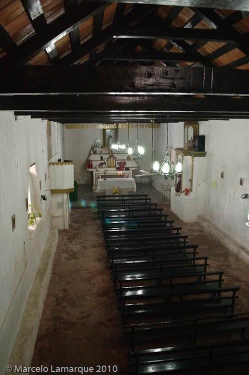 Interior Iglesia desde el Coro por Marcelo Lamarque