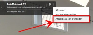 uitleg hoe streetview in je website krijgt 1