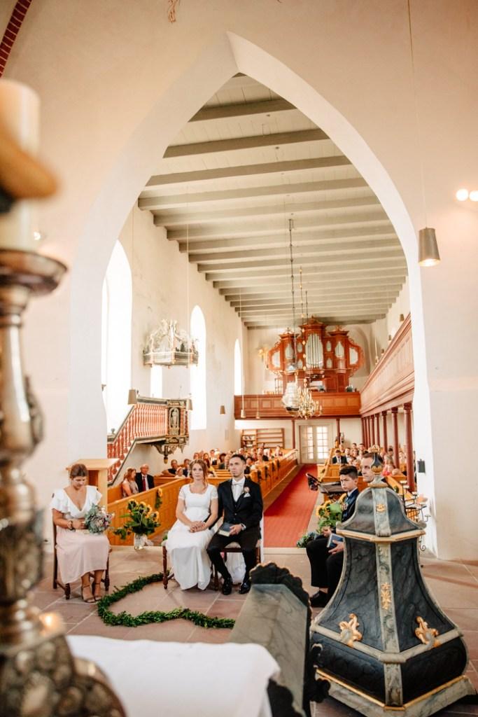 Kirchliche Trauung in Werdum