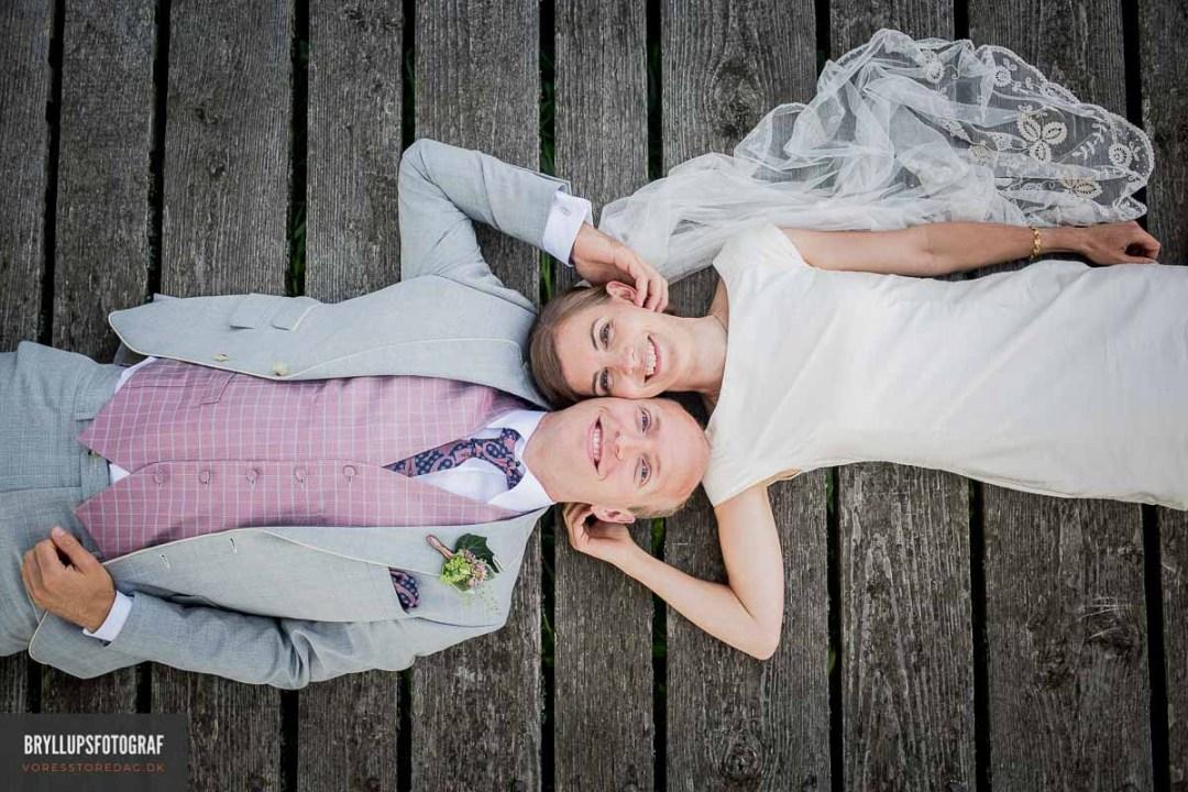 Viborg portrætfotos ved bryllup