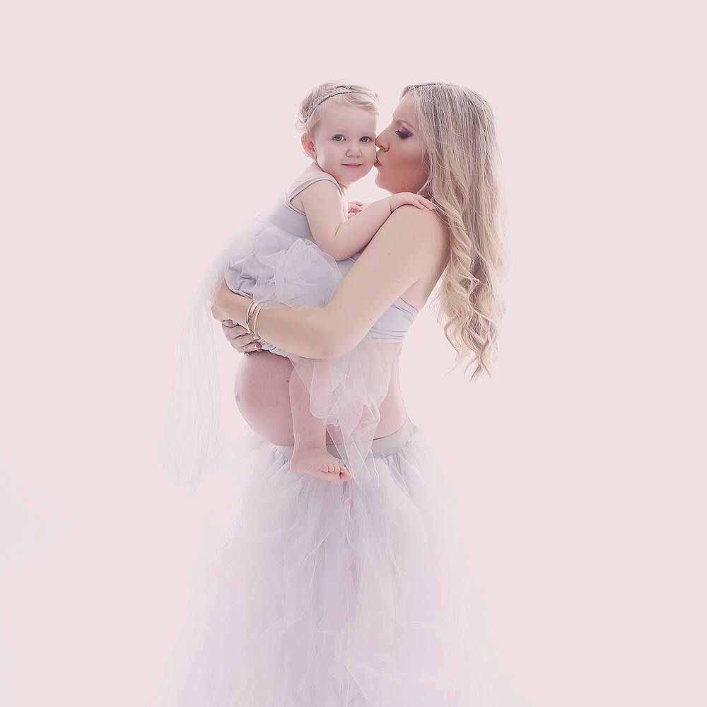 kjole til gravid fotografering Viborg