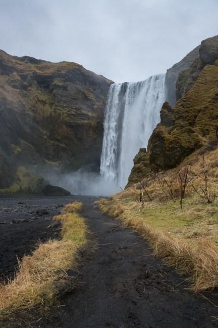 Skogafoss, IJsland
