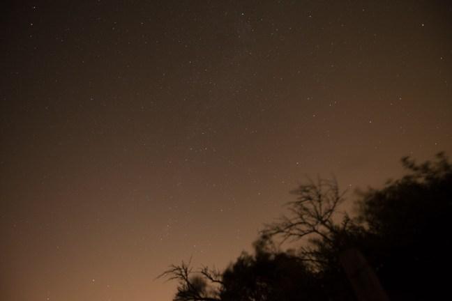 lichtvervuiling in de Randstad