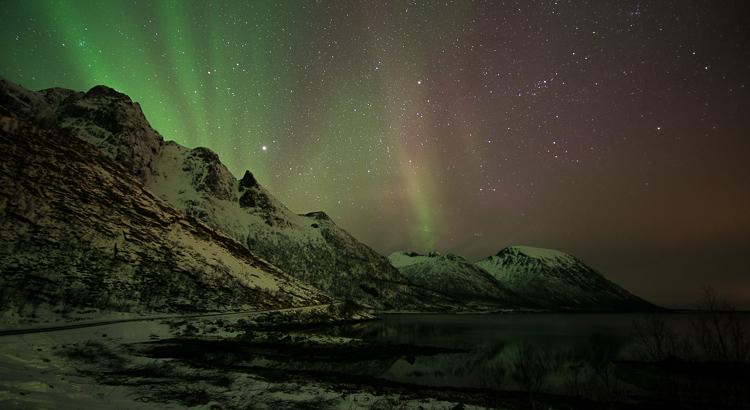 noorderlicht fotograferen in de kou