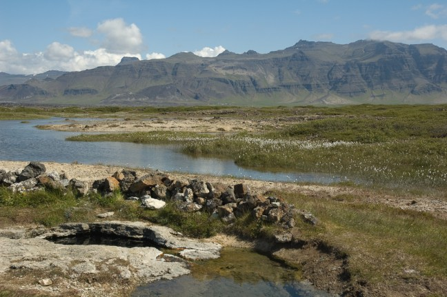 IJsland, warme bron