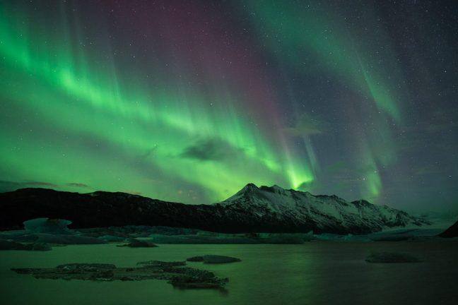 soorten noorderlicht: gordijnen