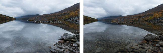 reflecties beinvloeden met polarisatiefilter