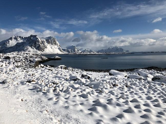 De weergoden creëerden winter wonderland
