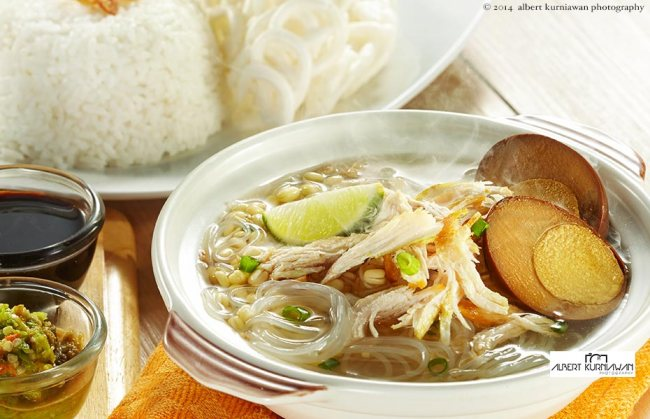 soto ayam, AKP for Tong Tji T-House