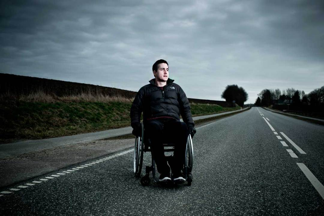 portræt handicappet Fredericia
