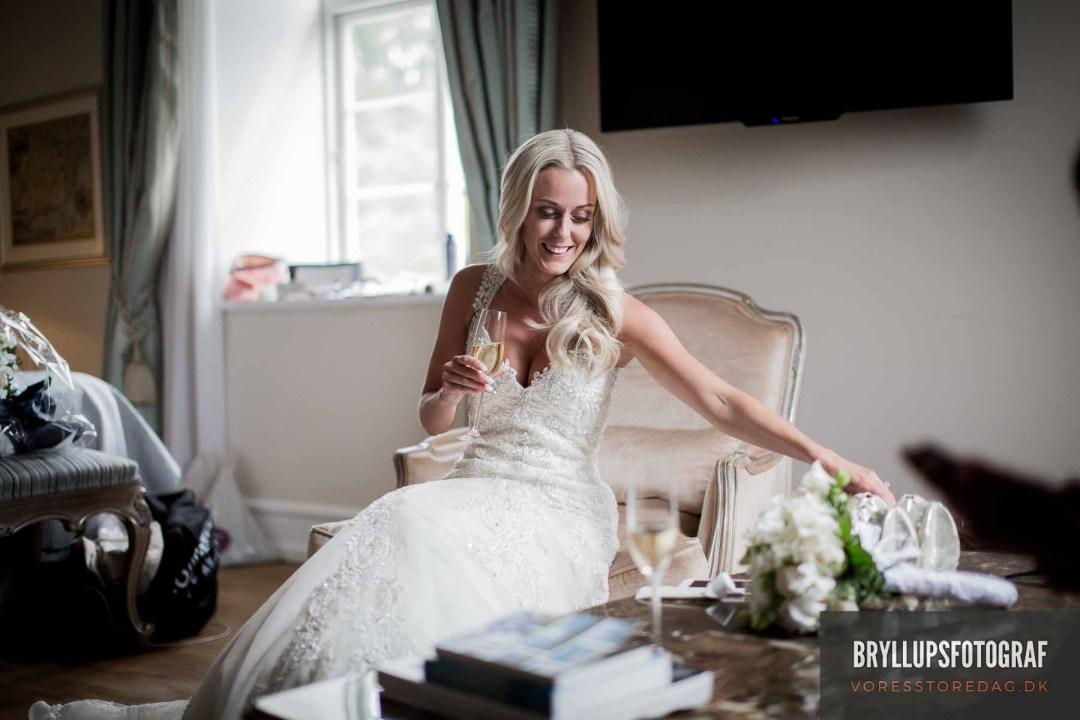 Her har du virkelig med en dygtig bryllupsfotograf Herning