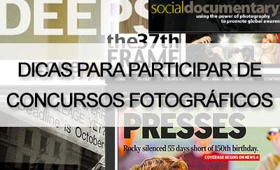 concursos fotográficos Concursos Fotográficos, dicas para  participar!