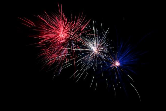 Fotografar fogos de artifício