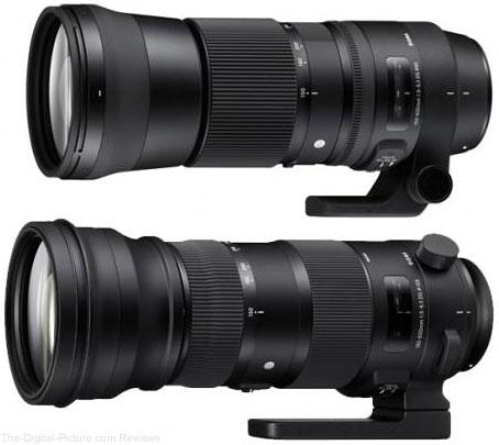 Duas Sigma 150-600mm diferentes lançadas ao mesmo tempo - Fotografia DG