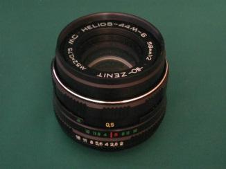 Helios 58mm 44-2 (ou 44M) f2