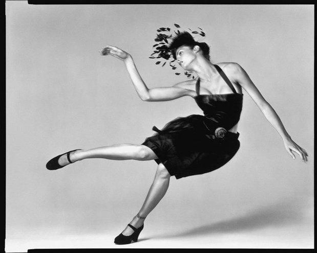 Stephanie Seymour para a Chanel em Setembro de 1994, por Richard Avedon.