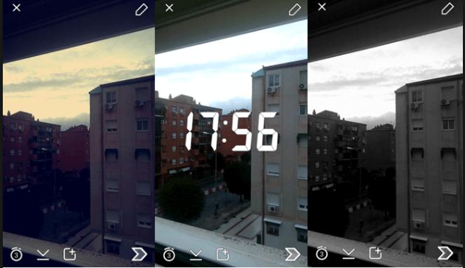Decorar fotos no Snapchat 3