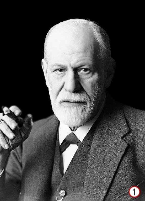 3. Sigmund Freud