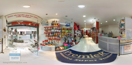 Google Business View Pet store catete