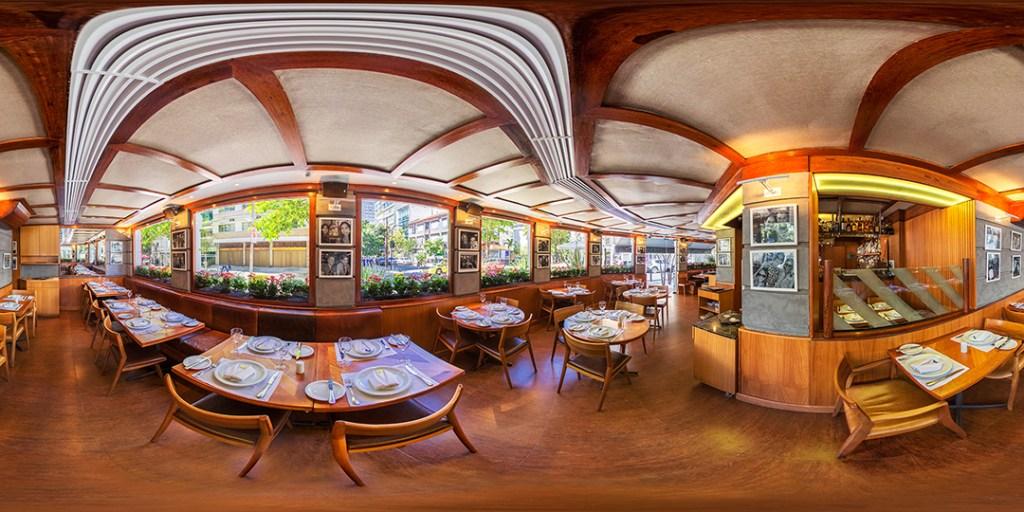 fotografia 360 de restaurante esolanada grill
