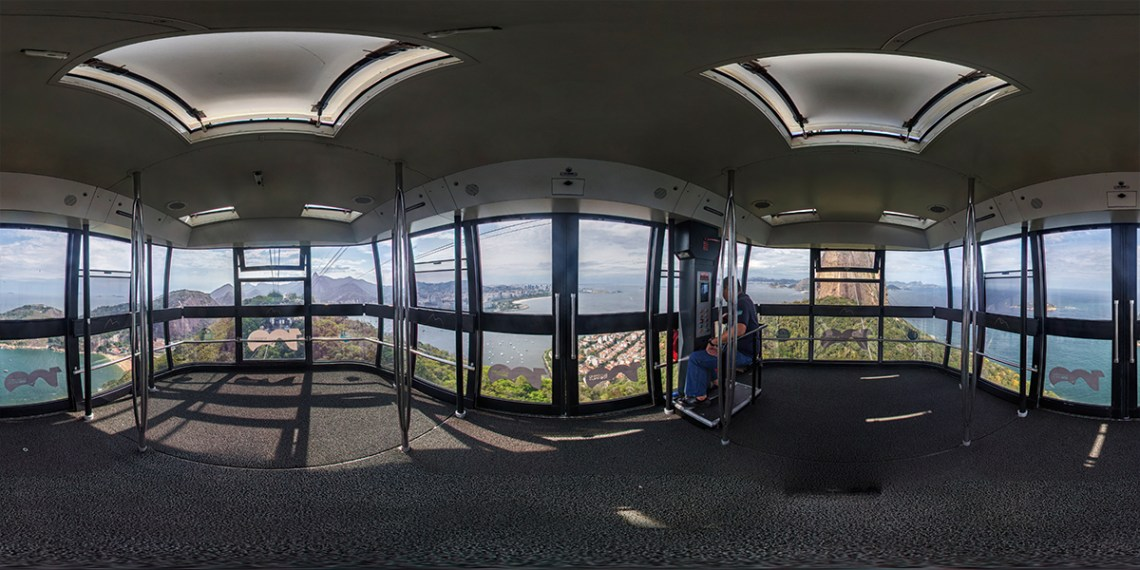 fotografia 360 para realidade virtual.