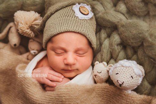 tutorial fotos a bebes arropados