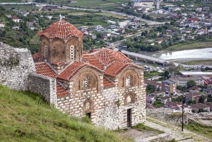 Kasteel van Berat - Fotoreis Albanië