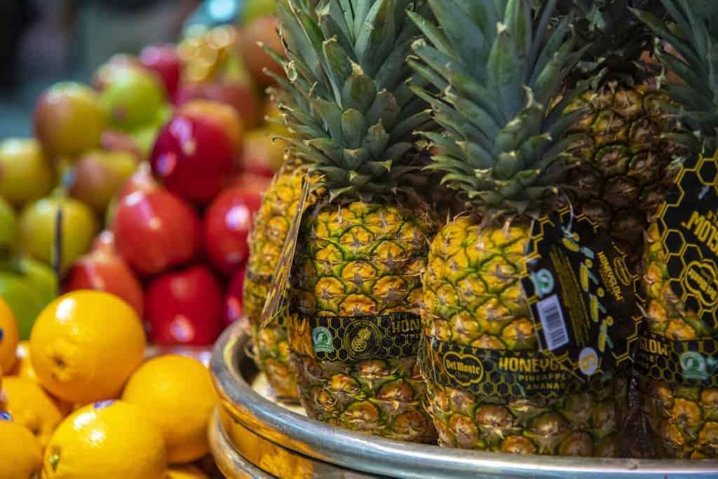Fotografie reis Valencia - Fruit op de Mercado Central