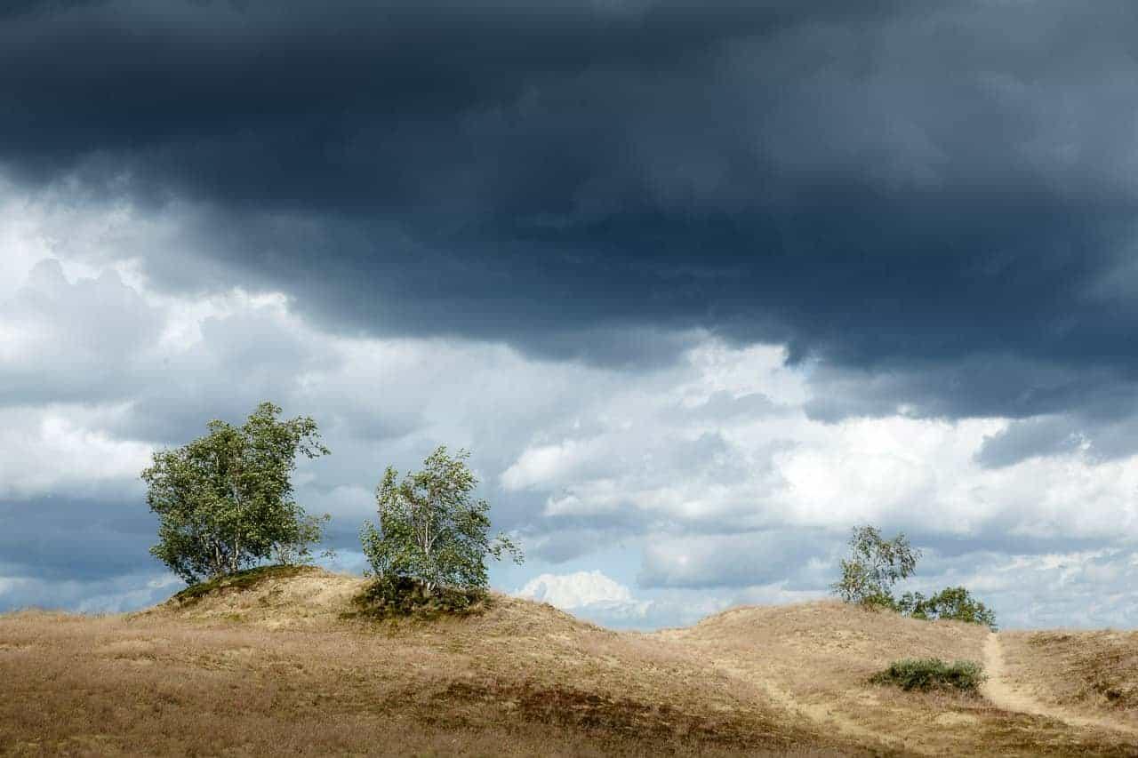 Donkere lucht tijdens het Fotografie weekend Brabant