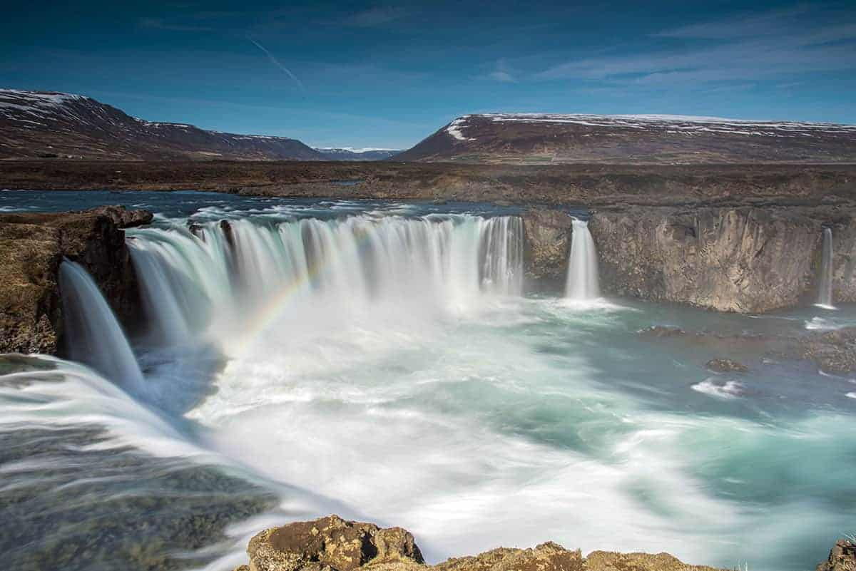 Fotografiereis Ijsland Zomer Godafoss waterval bij Fotografie-reizen - Fotoreizen