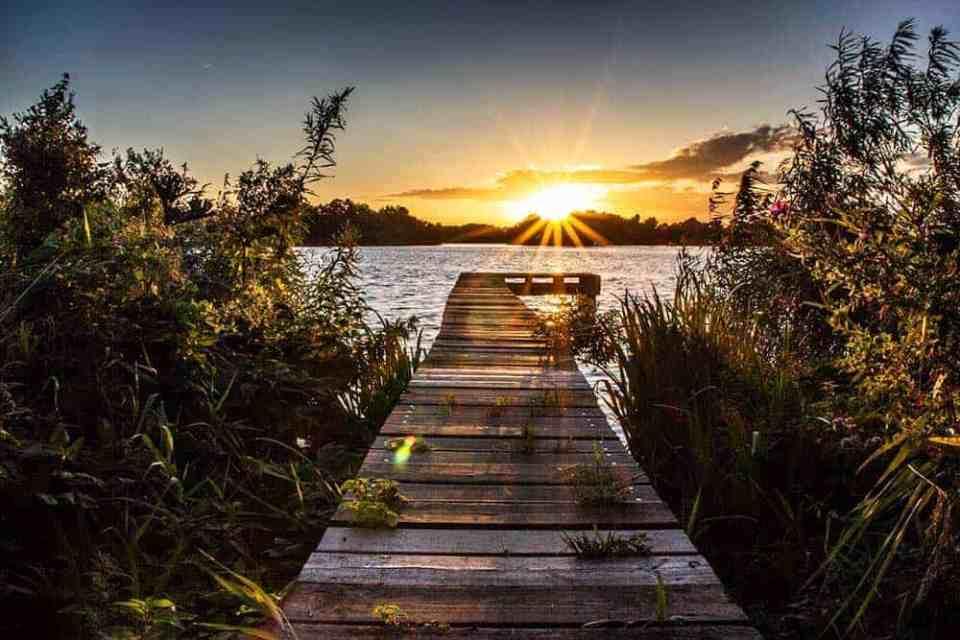 Fotografietips Licht tijdens ondergaande zon