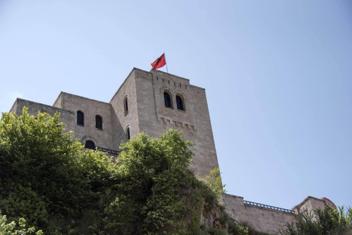 Fotoreis Albanie - Oude Vesting op de berg in Krujë