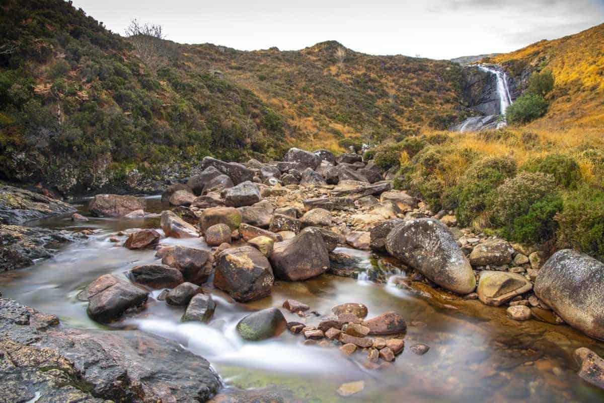 Fotoreis Schotland - Waterval Isle of Skye