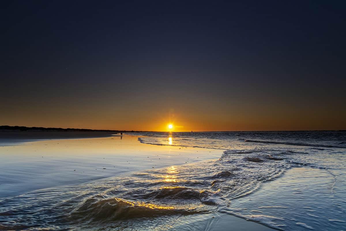 Fotoweekend Ameland zonsondergang Nes