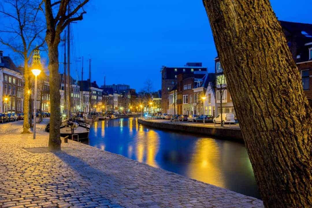 Workshop avondfotografie hoge der aa Groningen