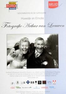Nominatie bruidsfotografie Bruid & Bruidegom 2007