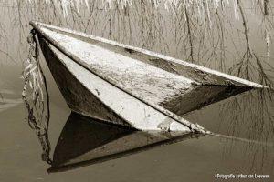 roeiboot in het water