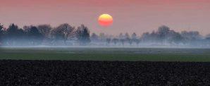 zonsondergang Randwijk
