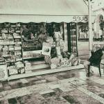 kiosk, winkel, tijdschriften, verkoop