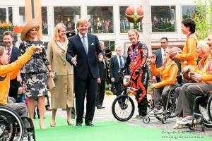 koning Alexander, koningin, Maxima, Arnhem