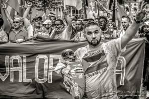 demonstratie, Rotterdam, PLO